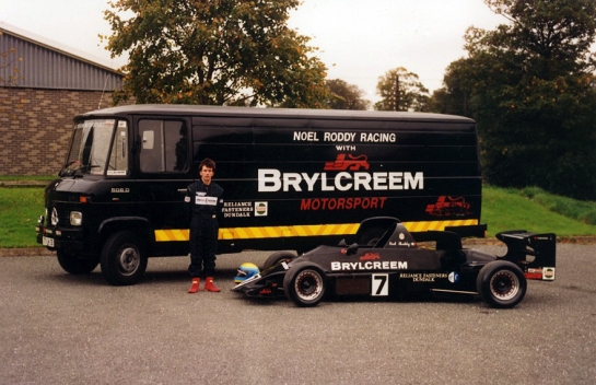 Noel Roddy Racing with Brylcreem
