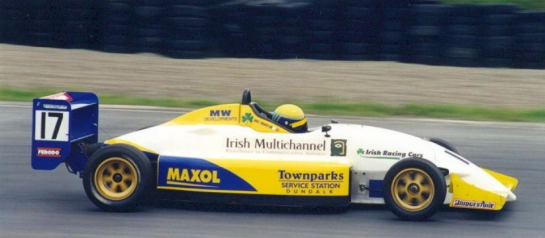 Winning in Irish Formula Europa Mondello Park 2000