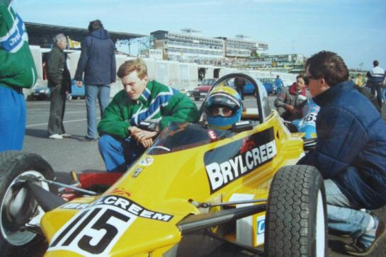 Christal Racing Reynard Formula Ford Festival, Brands Hatch 1989