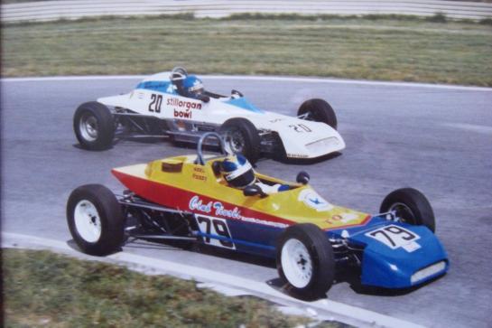Formula Ford 1600 Crossle 40F - Mondello Park 1983