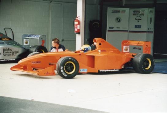 British Formula Palmer Audi Championship Mondello 2001