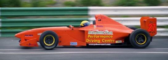 Mondello Park sponsored Formula Palmer Audi drive