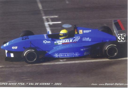 FFSA French Formula Renault, Val de Vienne France 2003