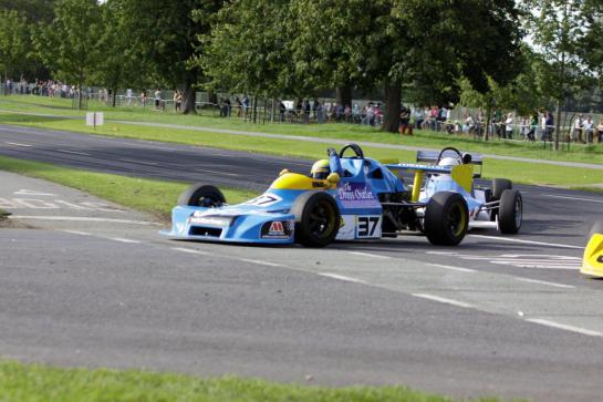 Winning at The Phoenix Park Motor Races 2012